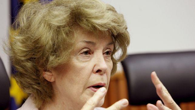La presidenta de honor de Attac Francia, Susan George. EFE / Sergio Barrenechea