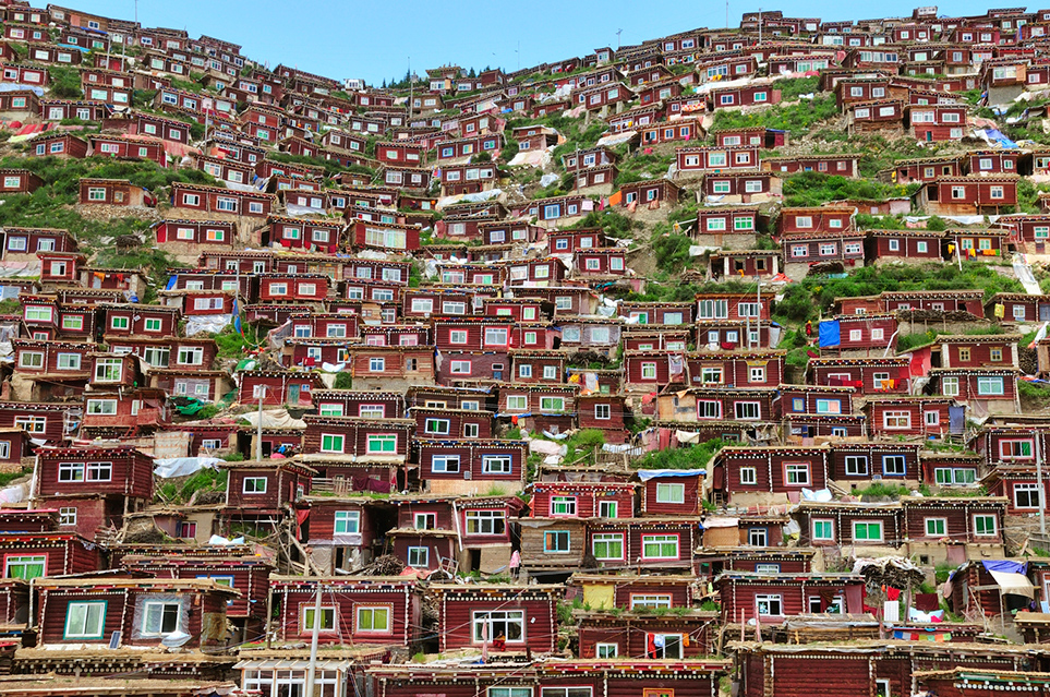 A Nun Housing Complex in Eastern Tibet