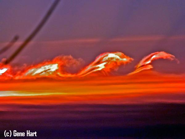 Inestabilidad Kelvin-Helmholtz el día de Navidad