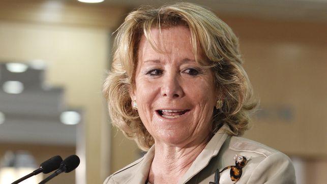 Aguirre carga contra Bruselas por el premio a la PAH y muestra su