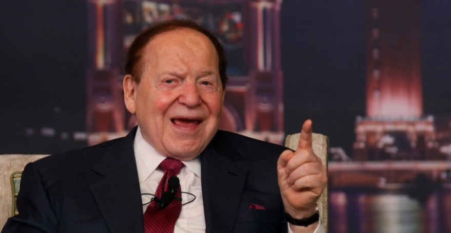 Sheldon G. Adelson, en un programa de la televisión estadounidense.