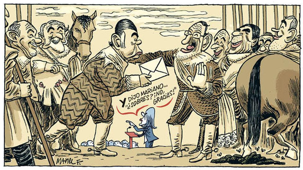 La historia según Cospedal - Manel Fontdevila